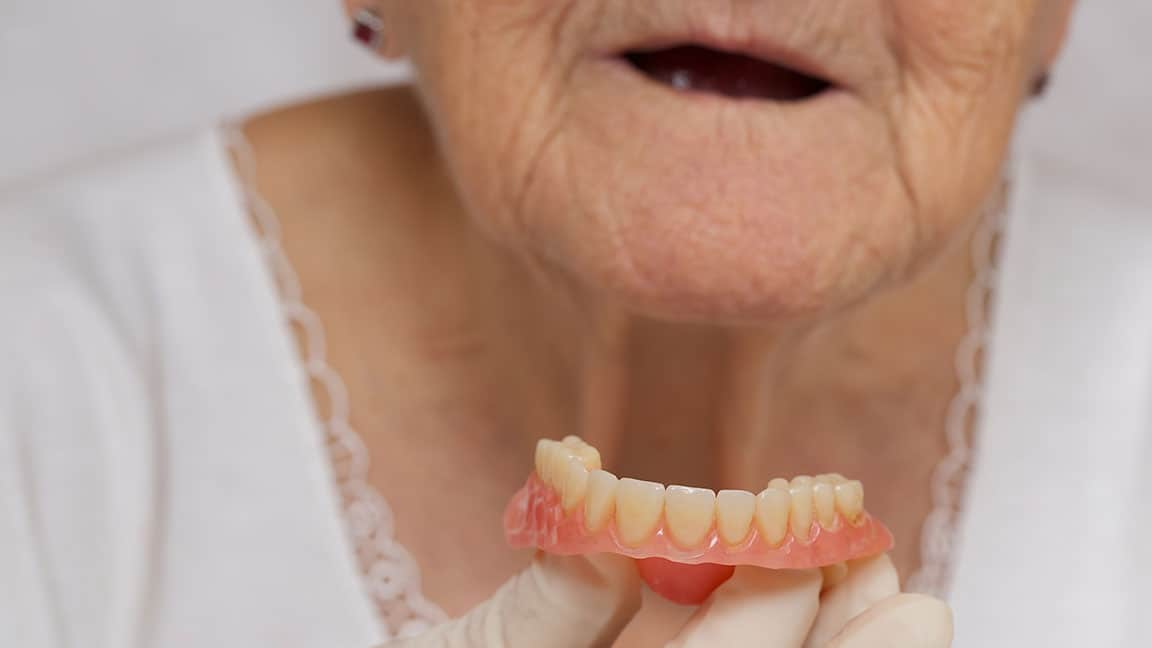 Laser Frenectomy Helping with Denture Alternatives